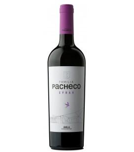 Single-varietal wine Syrah - Familia Pacheco - Jumilla