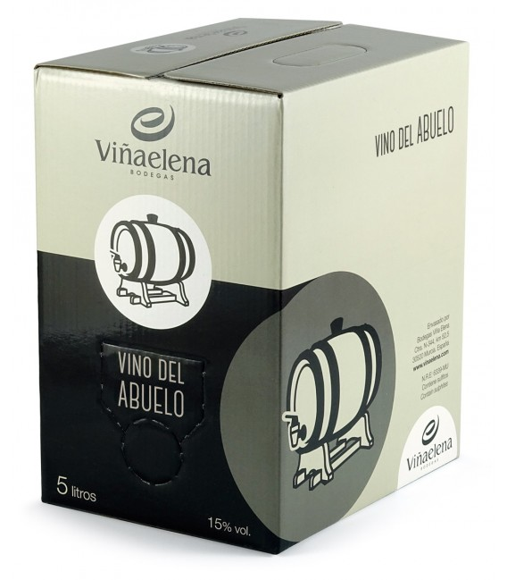 Bag in Box Vino Tinto Abuelo Viña Elena   5 L